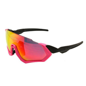 DAISY ONE POLARIZED CYCLING GLASSES - Big Red