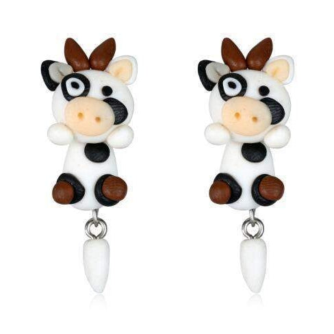 DAISY THE COW EARRING-Alpha Manchester