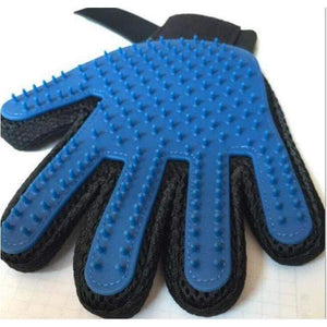 DESHEDDING DOG GLOVE - Big Red