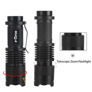 FALCON ONE™ 2000 LUMEN TELESCOPIC FLASHLIGHT - Big Red