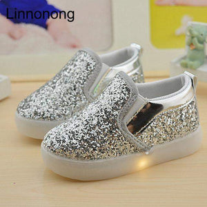 LED FLASH BABY SNEAKERS-Alpha Manchester