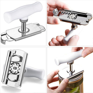 LIDS OFF™ - STAINLESS STEEL JAR OPENER-Alpha Manchester