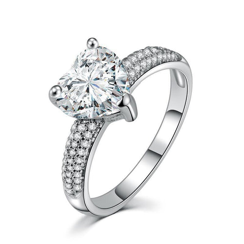 LUXURY DIAMOND PRINCESS RING-Alpha Manchester