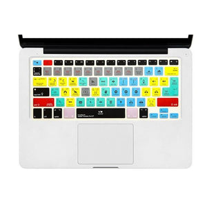 MACBOOK PRO CREATIVE KEYBOARD SHORTCUT COVER SKIN - Big Red