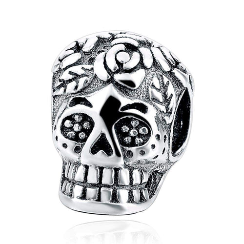 MEXICAN SKULL CHARM-Alpha Manchester