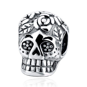 MEXICAN SKULL CHARM - Big Red