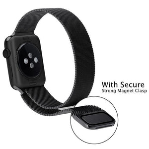MILANESE MAGNETIC LOOP - FOR APPLE WATCH BAND-Alpha Manchester