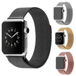 MILANESE MAGNETIC LOOP - FOR APPLE WATCH BAND - Big Red
