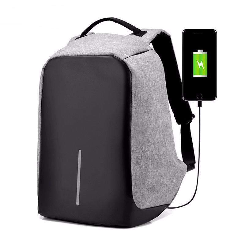 ORIGINAL USB CHARGING ANTI THEFT BACKPACK - Big Red
