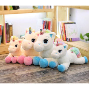 RAINBOW UNICORN PLUSH TOY-Alpha Manchester