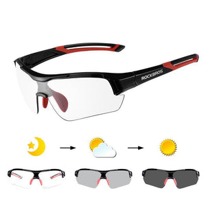 ROCKBROS PHOTOCHROMIC CYCLING SUNGLASSES-Alpha Manchester