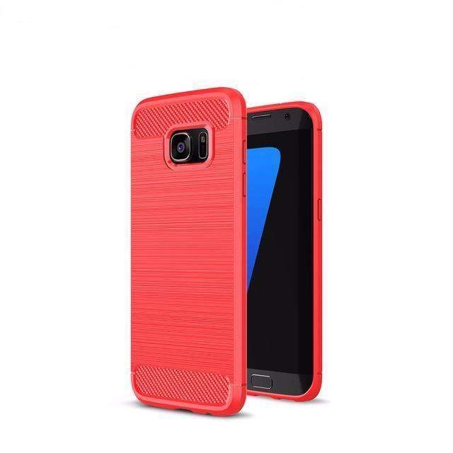 RUGGED ARMOUR - SHOCKPROOF SAMSUNG GALAXY CASE - Big Red