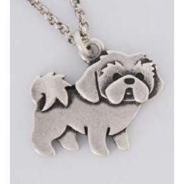 SHIH TZU NECKLACE-Alpha Manchester