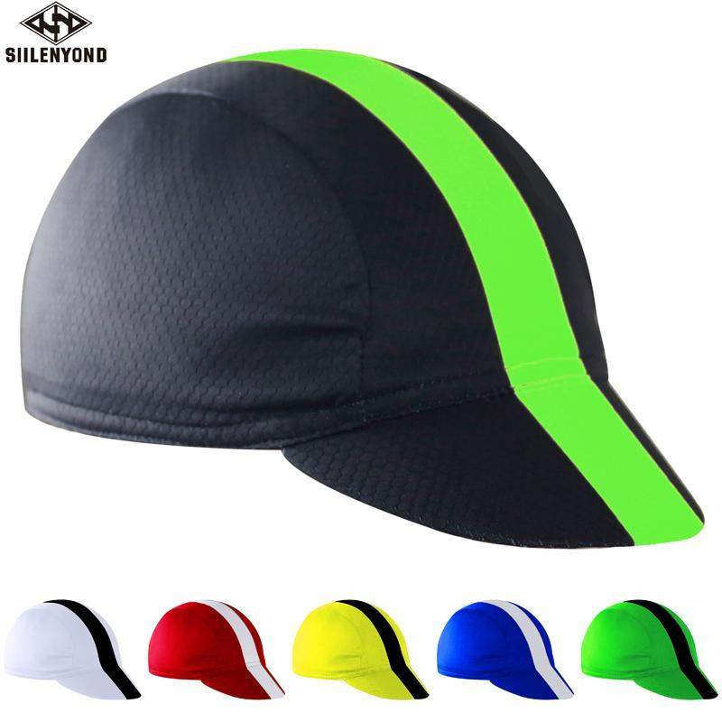 SIILENYOND 100% POLYESTER CYCLING CAP - Big Red