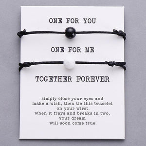 Together Forever Bracelets - Big Red