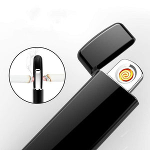 ULTRA THIN FINGERPRINT TOUCH USB LIGHTER-Alpha Manchester