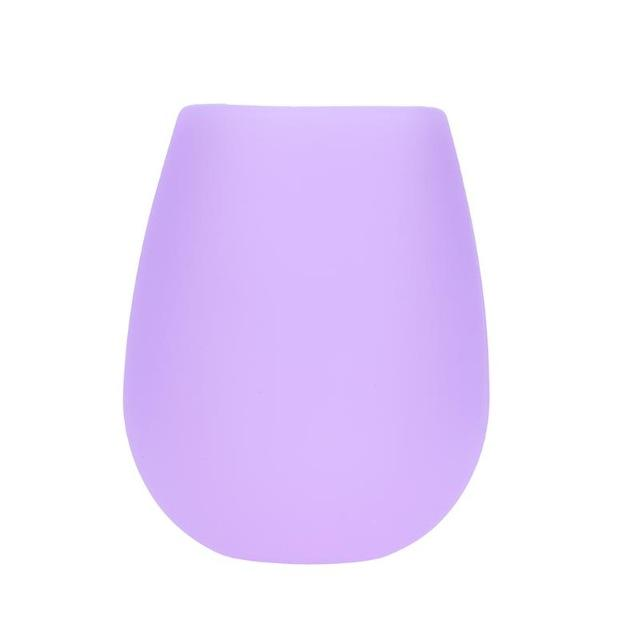 UNBREAKABLE SILICONE WINE GLASS-Alpha Manchester
