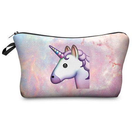 UNICORN COSMETIC BAG-Alpha Manchester