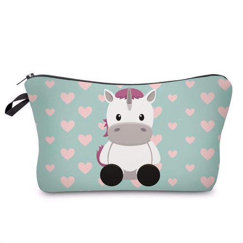 UNICORN MAKEUP COSMETIC BAG-Alpha Manchester