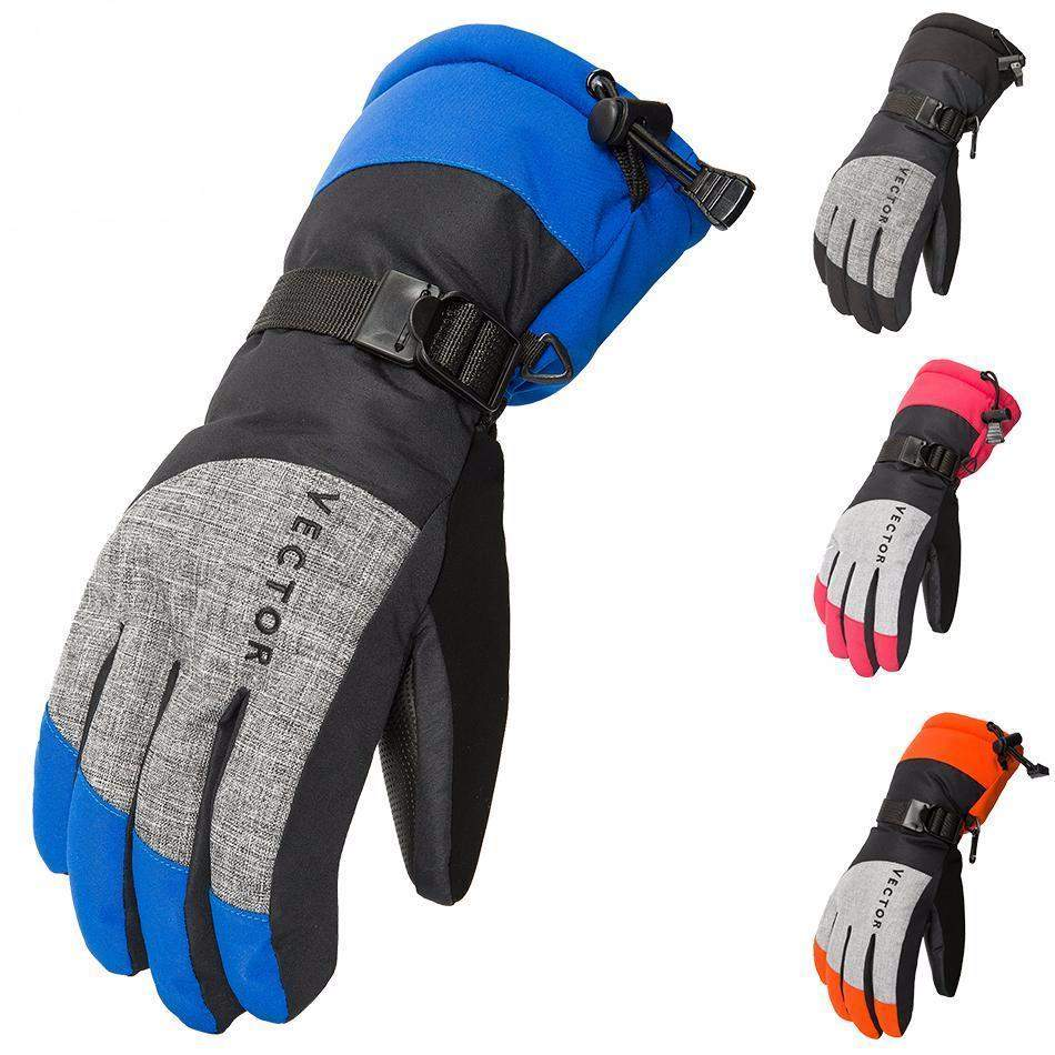 VECTOR SKI & SNOWBOARD GLOVES - Big Red