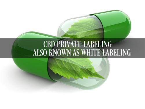 CBD PRIVATE LABELING ALSO KNOWN AS WHITE LABELING