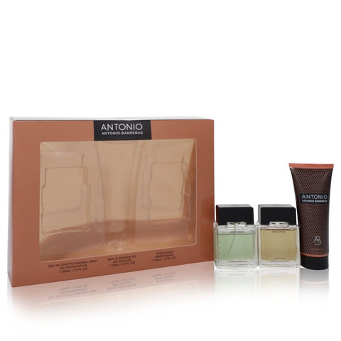 Antonio Cologne By Antonio Banderas Gift Set For Men