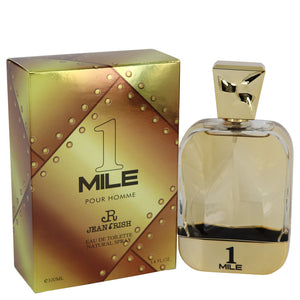 1 Mile Pour Homme Cologne By Jean Rish Eau De Toilette Spray For Men