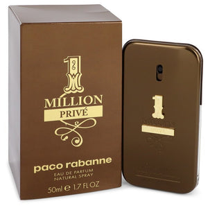 1 Million Prive Cologne By Paco Rabanne Eau De Parfum Spray For Men