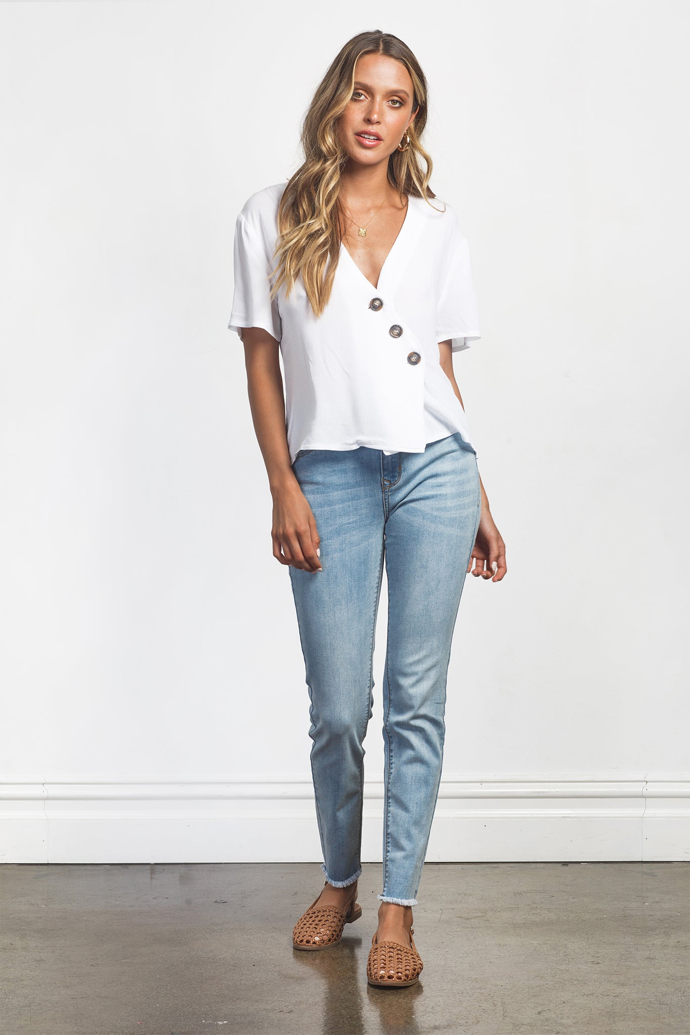 STELLA TOP - WHITE