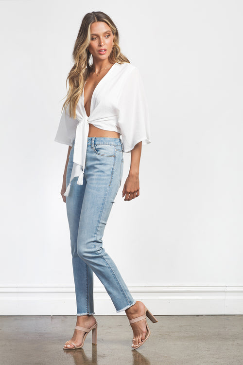 STEVIE TOP - WHITE