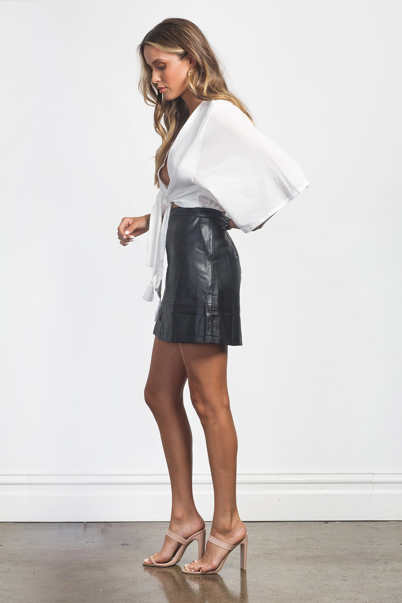 ISLA SKIRT - BLACK