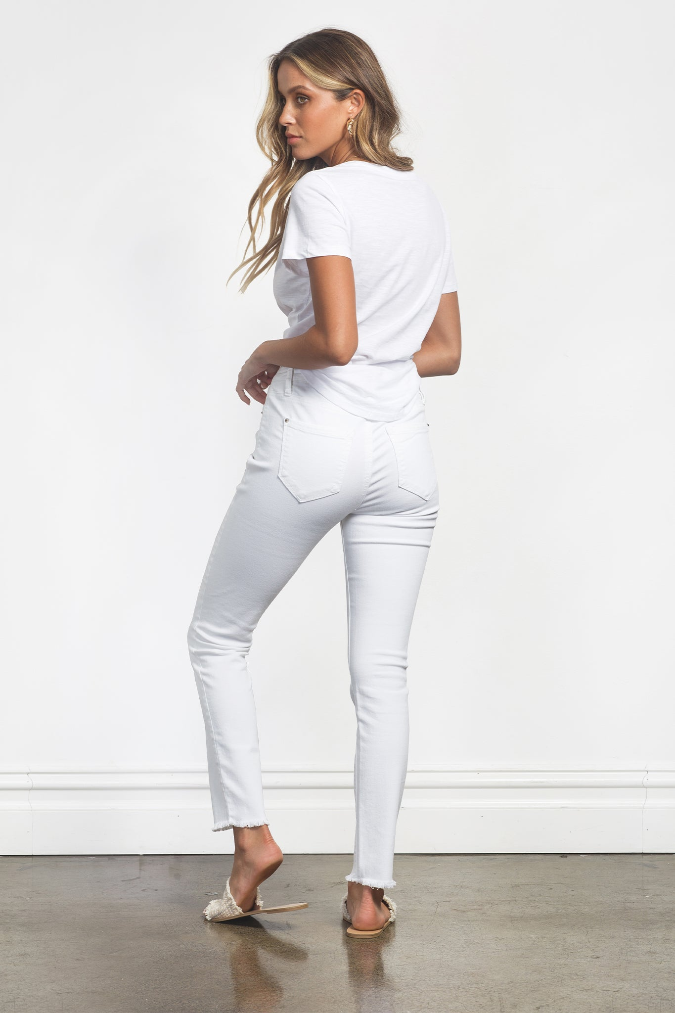 LUCIA JEANS - WHITE