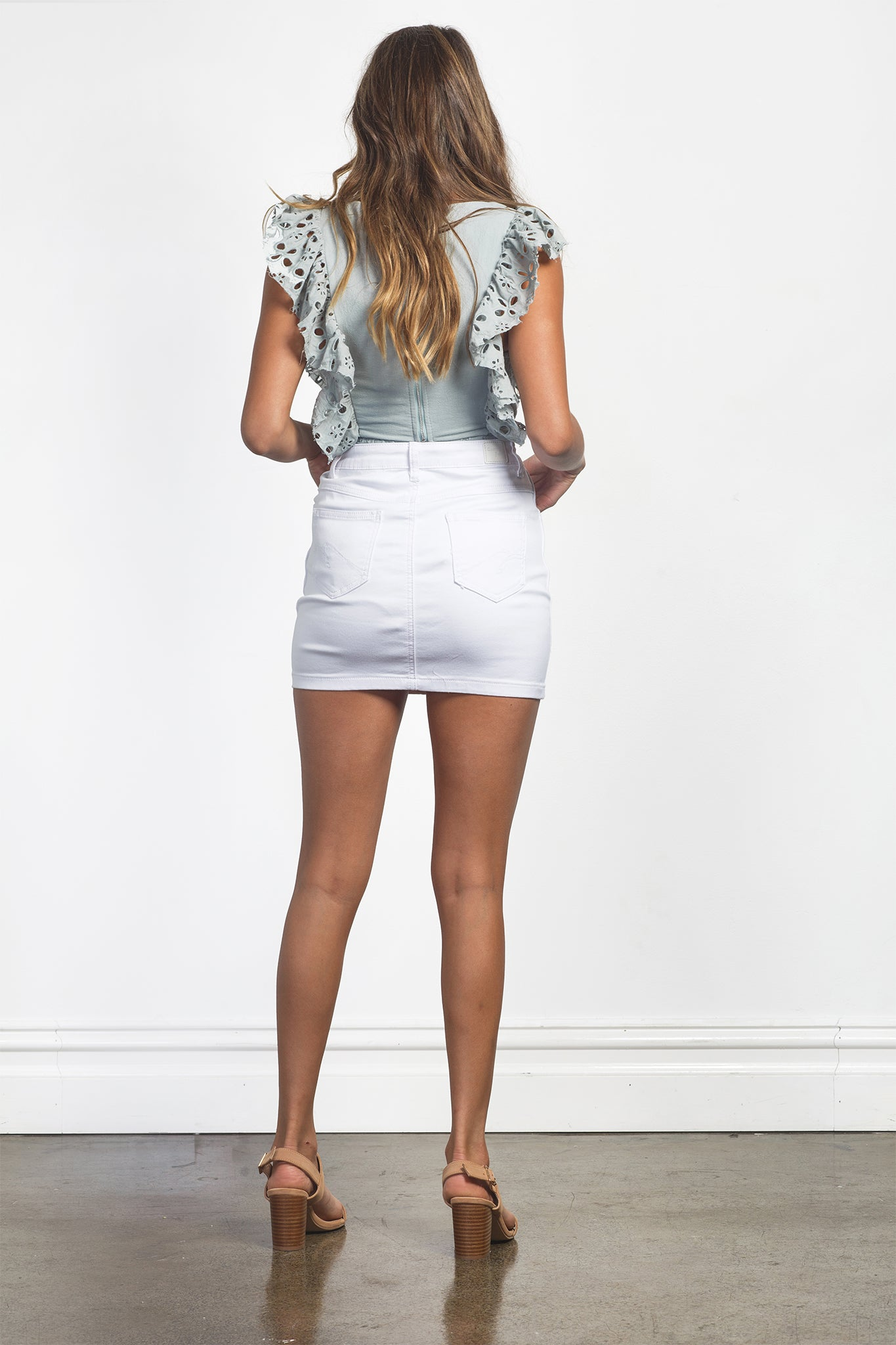 MARLEY SKIRT - WHITE