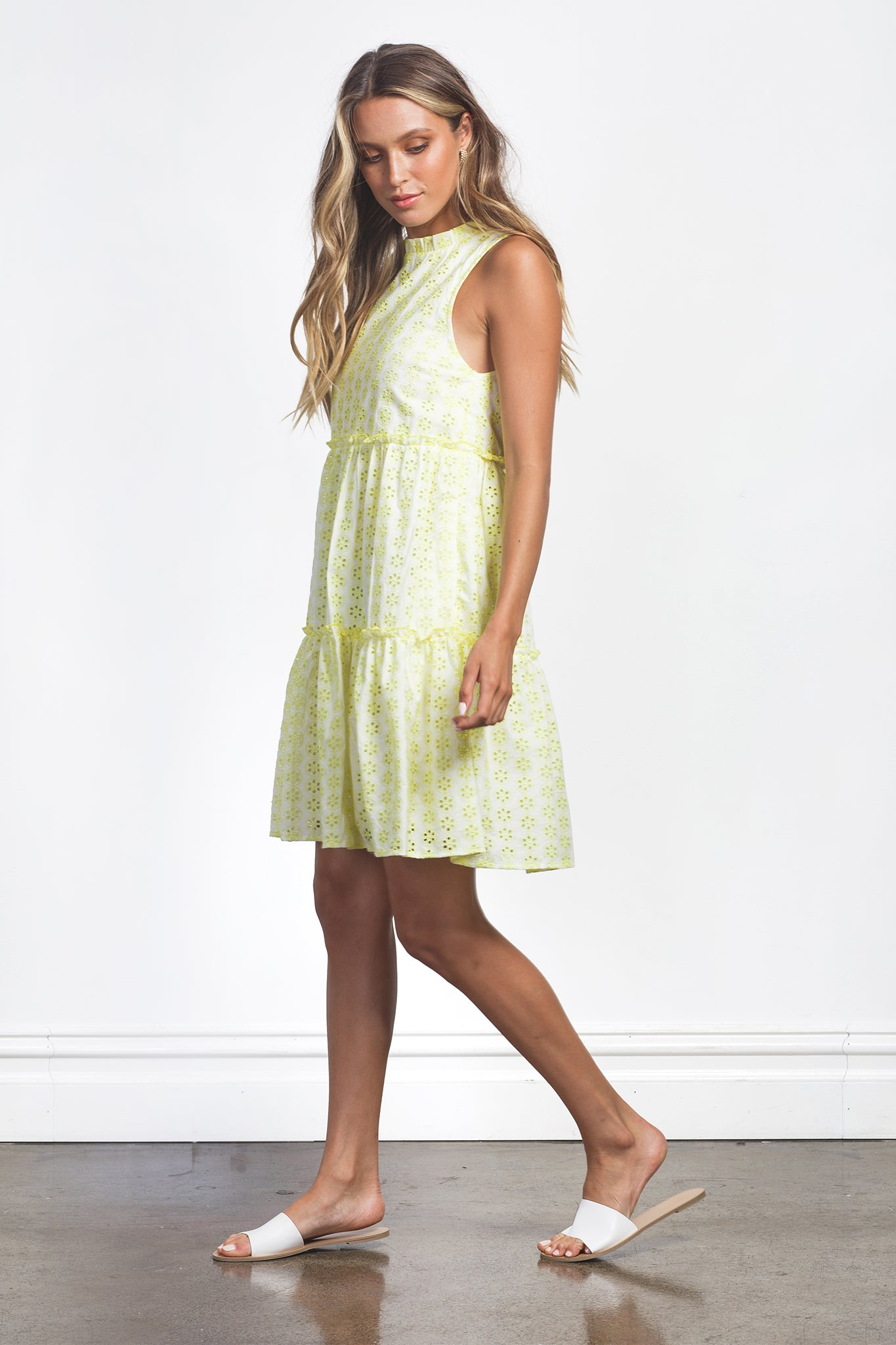 ZOEY DRESS - YELLOW