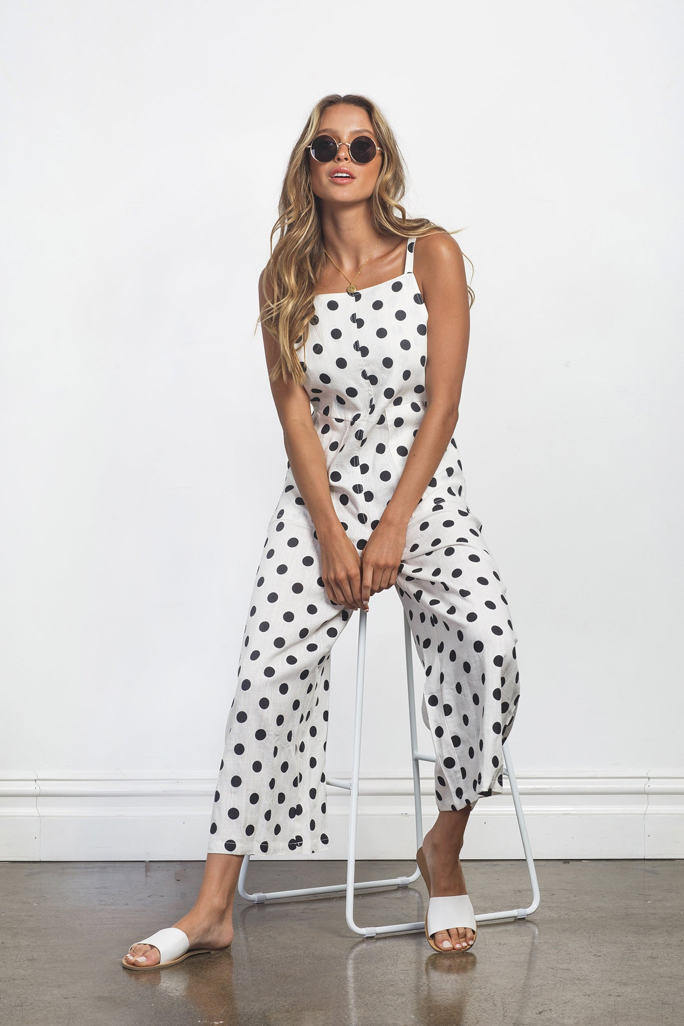 JESSIE JUMPSUIT - WHITE