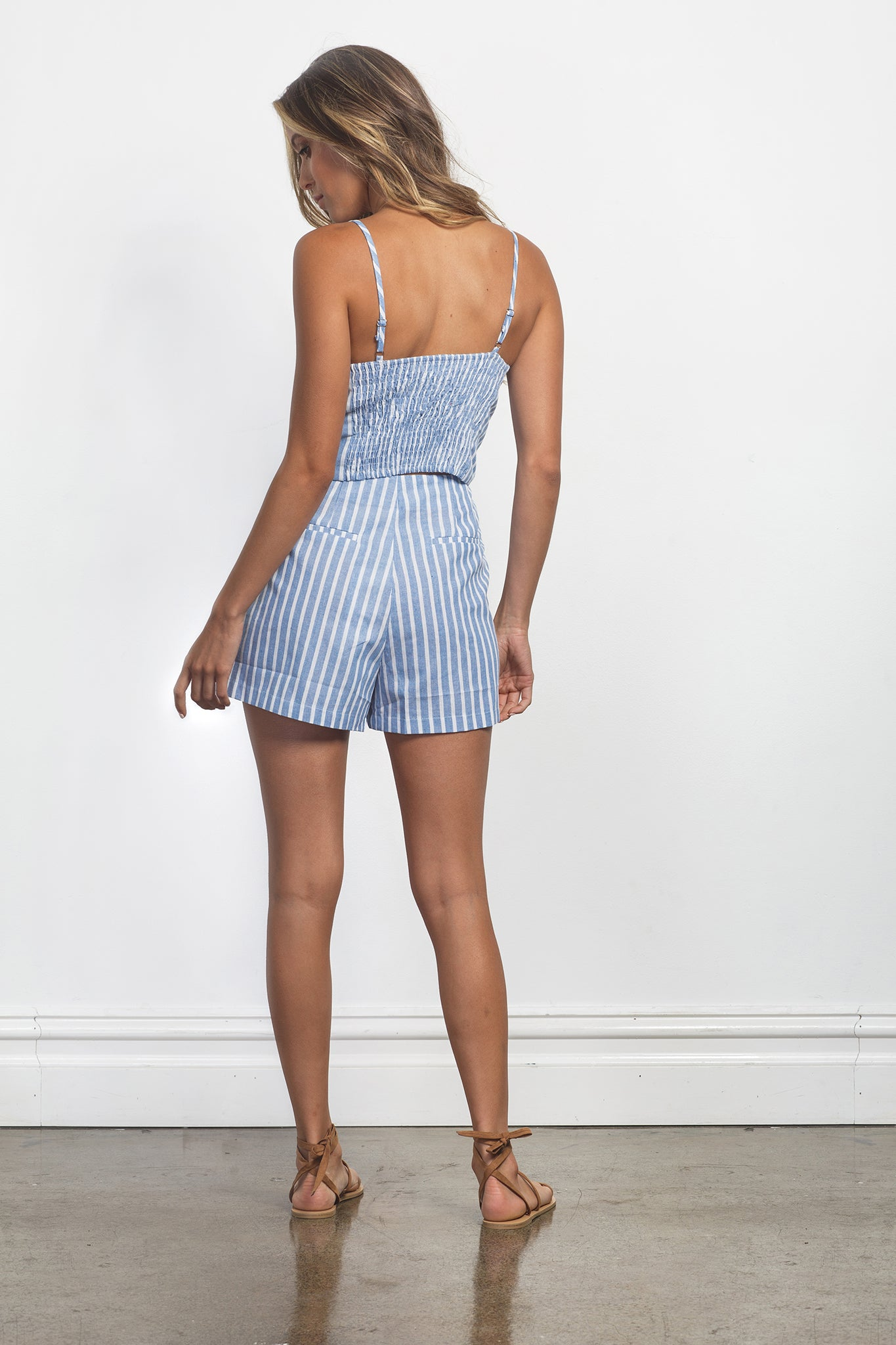ZARA SHORTS - BLUE