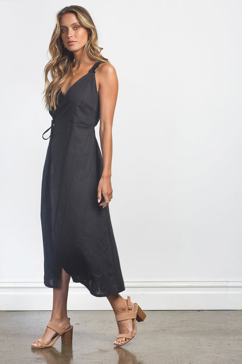 AUDREY DRESS - BLACK