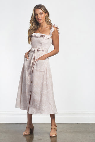 ISABELLA DRESS - SAGE