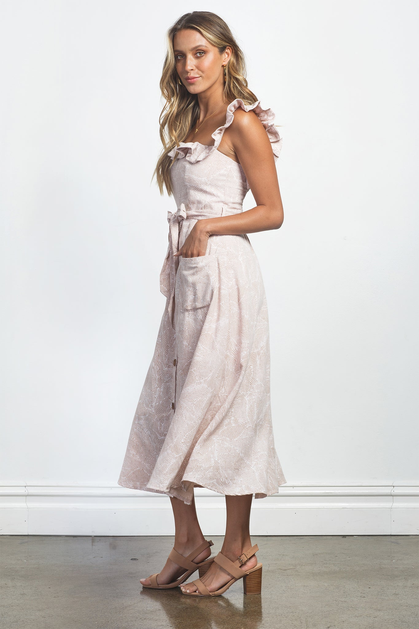 ISABELLA DRESS - ROSE