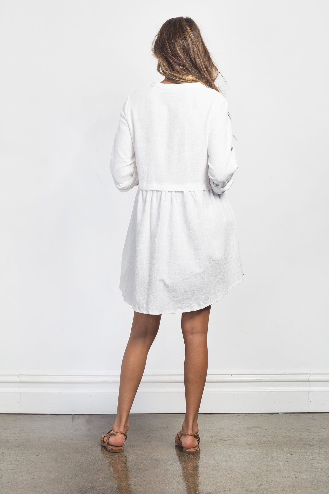 FRANKIE DRESS - WHITE