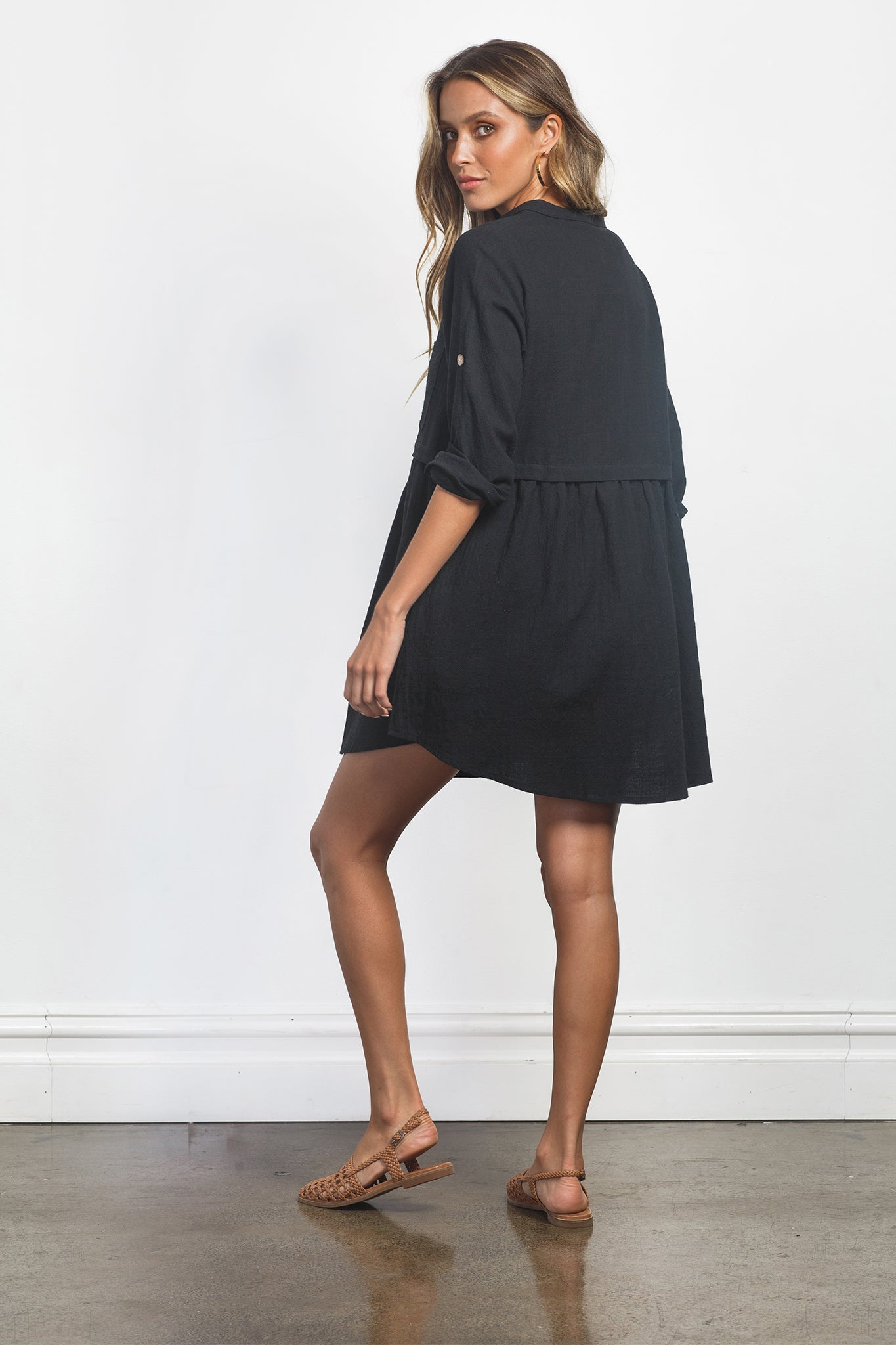 FRANKIE DRESS - BLACK