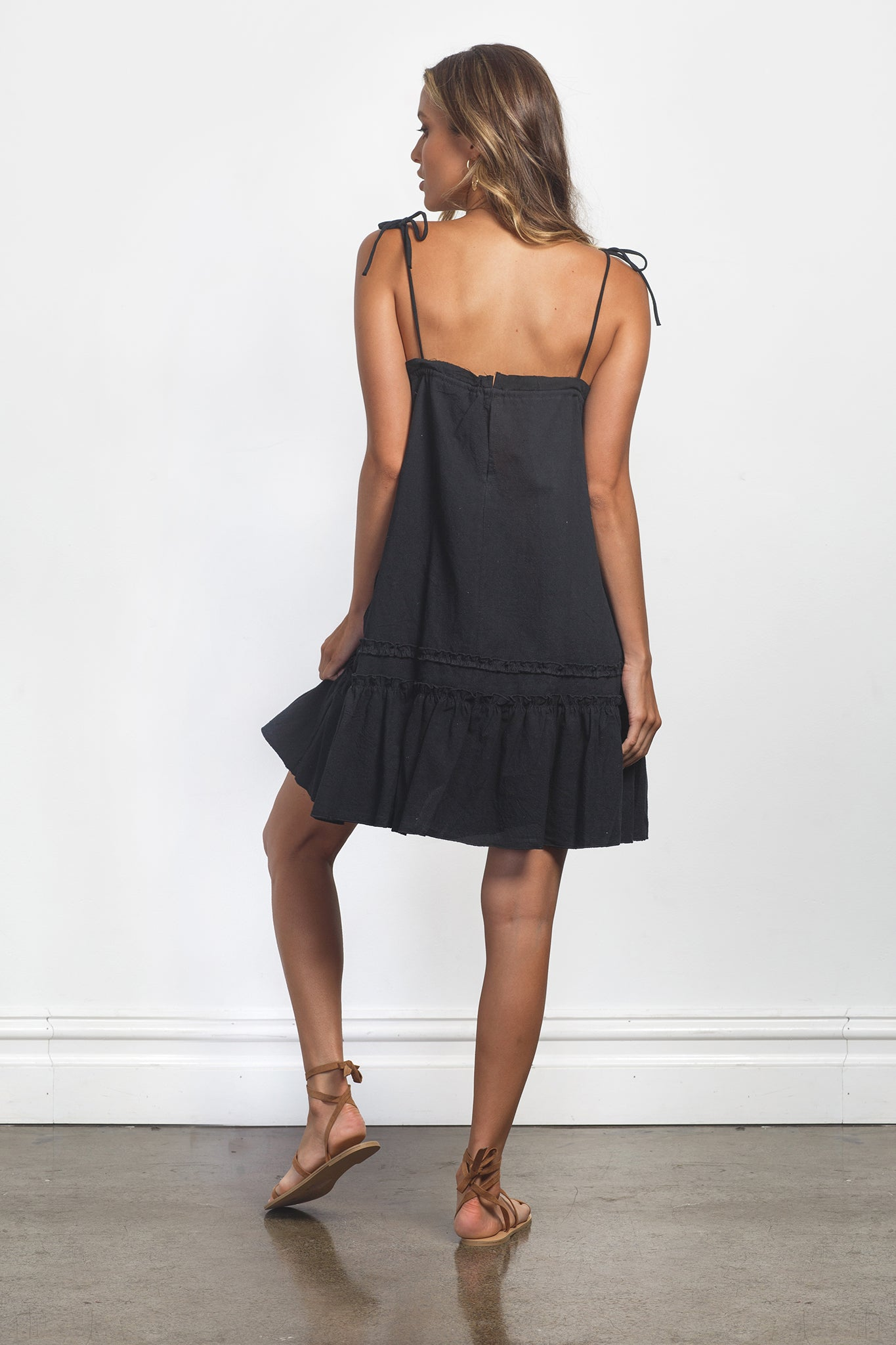 RUMI DRESS - BLACK