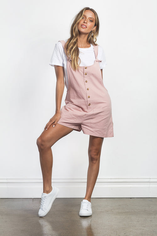 CARTER PLAYSUIT - PINK