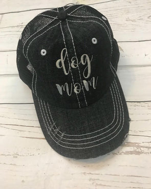 Dog Mom Ball Cap - Monograms By Kim Boutique & Gifts