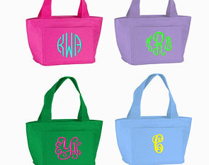 Monogrammed Lunch Bag - Monograms By Kim Boutique & Gifts