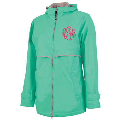 New Englander Rain Jacket--Mint
