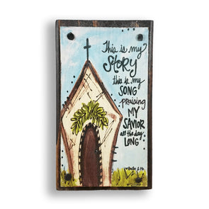 This Is My Story Happy Block - Monograms By Kim Boutique & Gifts