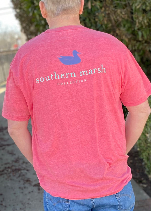 Southern Marsh Seawash Tee - Authentic - Strawberry Fizz