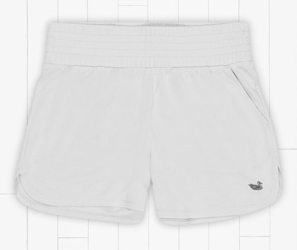 Southern Marsh Claire Sandwich Shorts - Light Grey