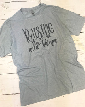 Raising Wild Things Graphic Tee - Monograms By Kim Boutique & Gifts
